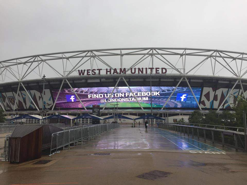 Live West Ham U23s Arsenal U23s PL2 London Stadium
