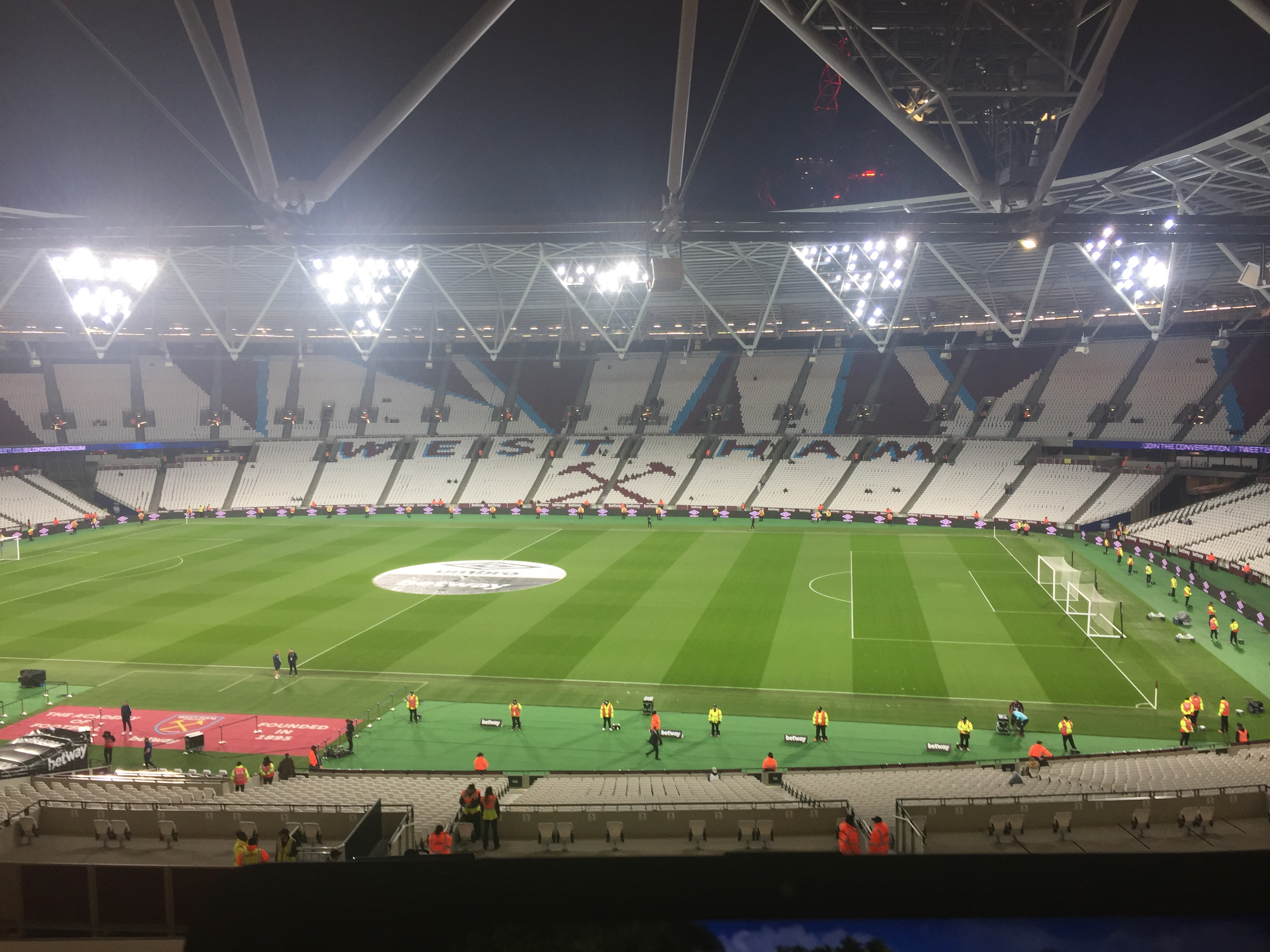 West Ham Tottenham Carabao Cup Live London Stadium