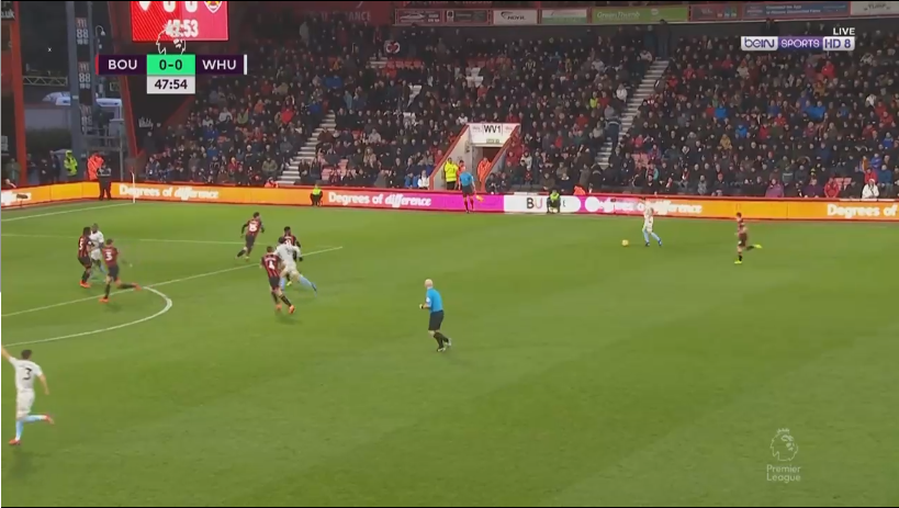 Andy Carroll West Ham Bournemouth Tactical Analysis Statistics